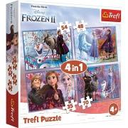 Jégvarázs II - 4 az 1-ben puzzle
