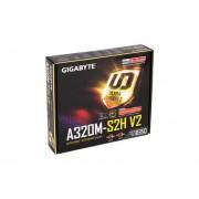T. Madre Gigabyte GA-A320M-S2H V2, ChipSet AMD A320, Soporta, AMD