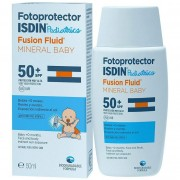Fotoprotector fusion fluid mineral baby 50+spf 50ml