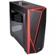 Кутия Corsair Carbide Series SPEC-04, ATX/mATX/Mini-ITX, 1x USB 3.0, страничен прозорец, черна, без захранване
