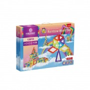 Joc magnetic Rainbow World 128 Piese Magspace