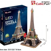 LED Puzzle 3D Turnul Eiffel - 306-20507