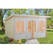 Caseta de madera Lisa 1 de 420x320 cm. para Jardín
