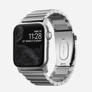 Nomad Titanový pásek / řemínek pro Apple Watch 42mm / 44mm - Nomad, Titanium Band Silver