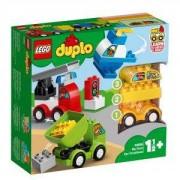 Конструктор Лего Дупло - Моите първи автомобилни творения, LEGO DUPLO, 10886