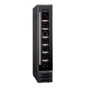 Vitrina frigorifica HWCB 15, 22 l, Clasa C, Capacitate 7 sticle, 87 cm, Negru