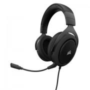 HEADPHONES, Corsair HS50 STEREO, Gaming, Microphone, Black (CA-9011170-EU)