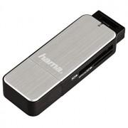 Cititor carduri SD/mSD Hama, 123900, USB3.0, gri