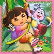 Puzzle Ravensburger - Dora, 25/36/49 piese (07134)