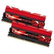 Memorie G.Skill TridentX 16GB (2x8GB) DDR3, 2133MHz, PC3-17064, CL9, XMP, Dual Channel Kit, F3-2133C9D-16GTX
