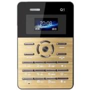 AIEK Q1 Ultra-thin Card Phone Gold