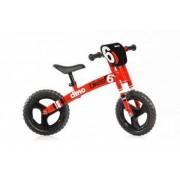 """Bicicleta pentru copii fara pedale Balance bike Runner Rosie Dino Bikes Made in Italy cu roti de 12"""""""