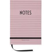 Design Letters Notes Design Letters A5 różowy