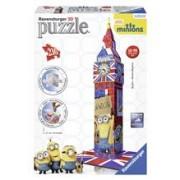 Puzzle 3D Big Ben Minions, 216 Piese