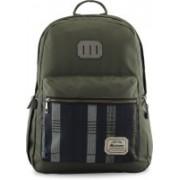 Harissons Rustic Backpack(Green, 21 L)