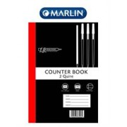 Freedom A4 Feint and Margin 2 Quire Counter Book