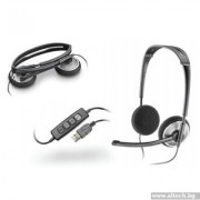 HEADPHONES, Plantronics Audio 478 DSP, USB, Microphone (81962-25)