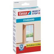 Plasă pentru ușă contra ţânţarilor tesa ® Standard, 2,2 m x 1,3 m, alb