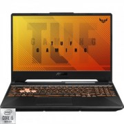Laptop ASUS Gaming 15.6 ASUS TUF F15 FX506LI-HN005, FHD 144Hz, Procesor Intel Core i5-10300H (8M Cache, up to 4.50 GHz), 8GB DDR4, 256GB SSD, GeForce GTX 1650 Ti 4GB, No OS, Bonfire Black