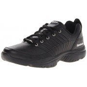 Reebok Men's Lumina Fashion Sneaker Black/Black/Black/Royal 11 D(M) US