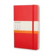 Unbranded Classic notebook pocket ruled hard red
