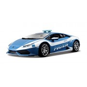 Bburago Lamborghini Huracán LP 610-4 Polizia, Blue