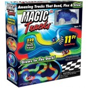PH Artistic Magic Tracks The Amazing Race Racing track That Can Bend Flex and Glow in the Dark 11 Feet - As Seen On TV