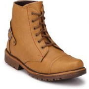 Big Fox Men's Brown Lace-up Boots