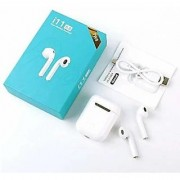 11S TWS Wireless Bluetooth Headphone with Mic for iOS Android Bluetooth Headset with Mic (White In the Ear)