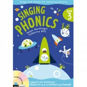 A&C Black Singing Phonics 3 Book, CD
