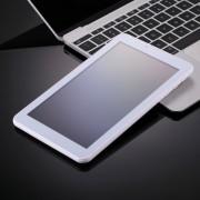 7.0 pouces Tablet PC, 512 Mo + 8 Go, appel téléphonique 3G, Android 4.4.2, MTK6582 Quad Core jusqu à 1,3 GHz, double SIM, WiFi, OTG, Bluetooth (Argent)
