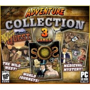 Digital Clay Studios Adventure Collection: Wild Wild Quest / S.O.S.: Save Our Spirits / Hide and Secret: Cliffhanger Castle Jewel Case Edition