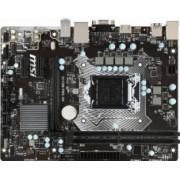 Placa de baza MSI H110M Pro Socket 1151 DDR4 Bonus Aer comprimat 4World 400