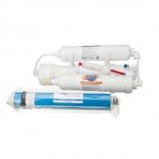 Osmoza inversa pentru acvariu, 3 stadii, 284 litri/zi, pachet complet