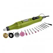Extol Craft mini köszörű és fúrógép + tartozék klt. 18V; adapterrel (tartalék kő: 73412) 404122