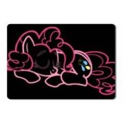 Mouse Pad Neon Pink Pinkie Pie My Little Pony - 21.5 X 27 X 0.3cm