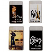 Fragrance And Fashion Gentleman Evening In Paris Romance Classy Edt of 15ml Each