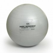 Fitnesz vagy ülőlabda, Sissel Securemax, 75cm ezüst színű