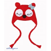 Caciulita tricotata Red Bird