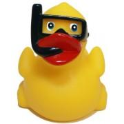 Rubber Ducks Family Snorkel Rubber Duck, Waddlers Brand Toy Bathtub Rubber Ducks That Float Upright,