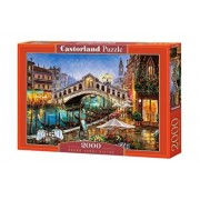 Puzzle Grand Canal Bistro, 2000 piese