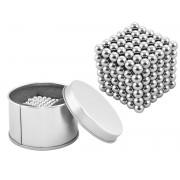 Joc Puzzle Antistres Neocube cu Bile Magnetice Diametrul 5mm, 216 Piese