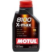 MOTUL 8100 X-max 0W40 1 litru