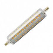 efectoled.com Bombilla LED R7S Slim Regulable 118mm 10W Blanco Cálido 2700K