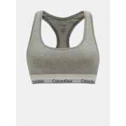 Calvin Klein sivi sportski grudnjak Bralette