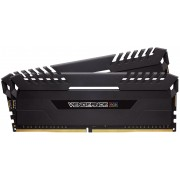 Corsair Vengeance LED 16GB (2x 8GB) DDR4-3200MHz 1.2V Desktop Memory Module with Black Vengeance LED Heatspreader