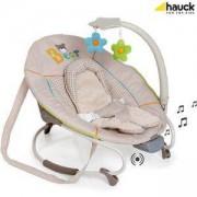 Бебешки музикален шезлонг - Leisure e motion Bear, Hauck, 634219