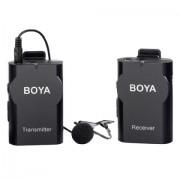 Microfon Wireless pentru DSLR si smartphone Boya BY-WM4