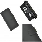 Pearlycase Hoes Wallet Book Case Zwart voor Sony Xperia 10