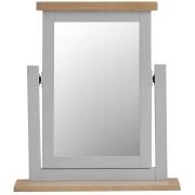 Woodbridge Grey Painted Trinket Mirror